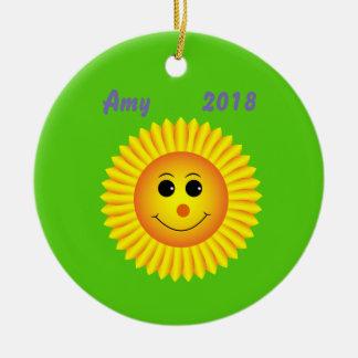 Ornement de sourire de Sun