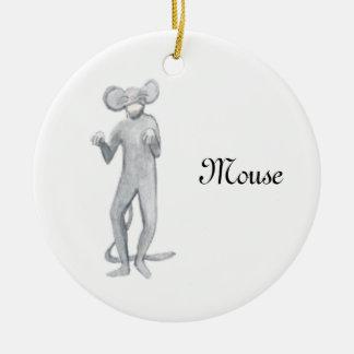 Ornement de souvenir de souris de casse-noix