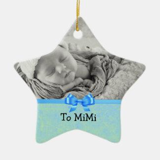 Ornement de souvenir pour le bébé à Mimi