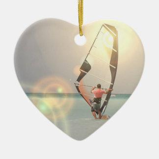 Ornement de sport de planche à voile