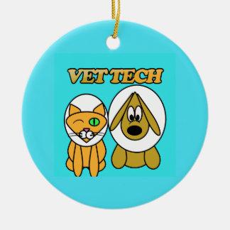 ornement de technologie de vétérinaire