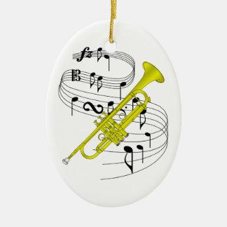 Ornement de trompette