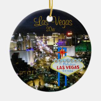 Ornement de vacances de Las Vegas