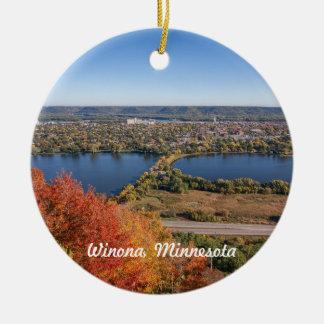 Ornement de Winona : Winona en automne