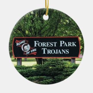 Ornement d'école de Forest Park