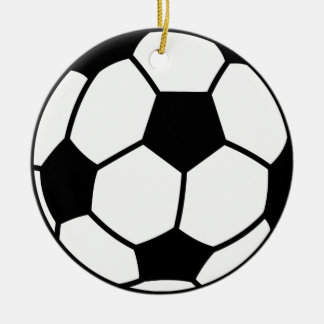 Ornement décoratif de ballon de football