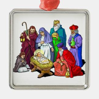 Ornement décoratif de Noël de nativité