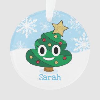 Ornement d'Emoji d'arbre de Noël d'Emoji de