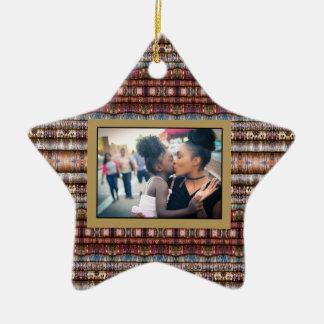 Ornement d'étoile de HAMbyWG - ornement de photo