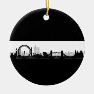 Ornement d'horizon de Londres