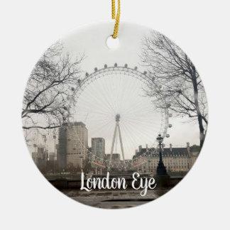 Ornement d'oeil de Londres