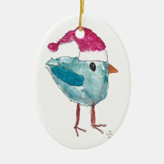 Ornement d'oiseau de Noël