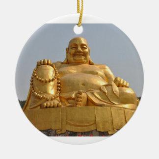 Ornement d'or de Bouddha
