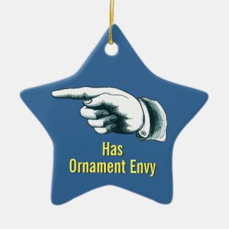 Ornement drôle d'arbre de Noël