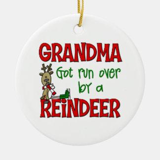 Ornement drôle de Noël de grand-maman