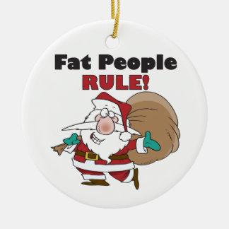 Ornement drôle de Noël du père noël