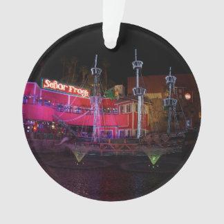 Ornement du bateau de pirate d'île de trésor #2