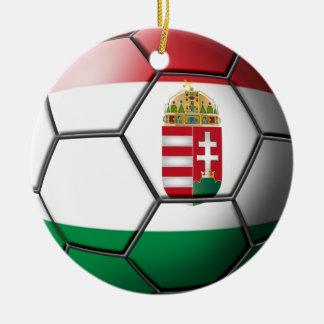Ornement du football de la Hongrie
