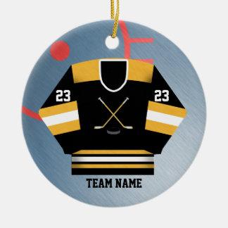Ornement du Jersey de joueur de hockey