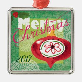 Ornement du Joyeux Noël 2017