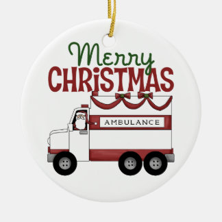 Ornement du Joyeux Noël EMT