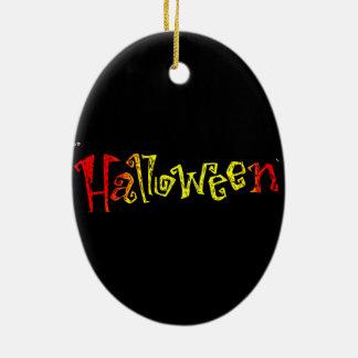 Ornement en céramique de Halloween
