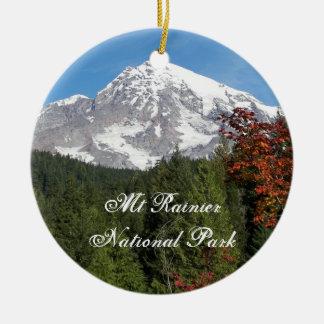 Ornement en céramique de photo de parc national de