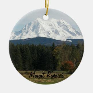 Ornement en céramique de photo de paysage du mont