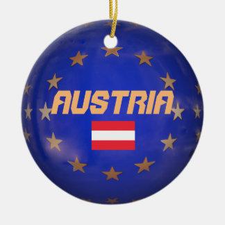 Ornement en céramique d'Union européenne de