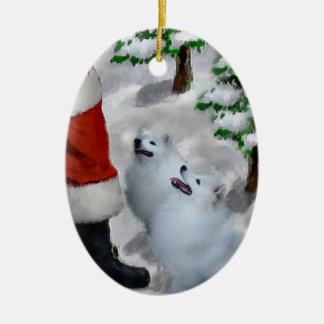 Ornement esquimau américain de cadeaux de Noël