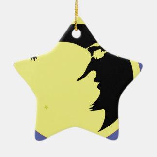 Ornement Étoile En Céramique 12moon