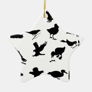 Ornement Étoile En Céramique 48birds