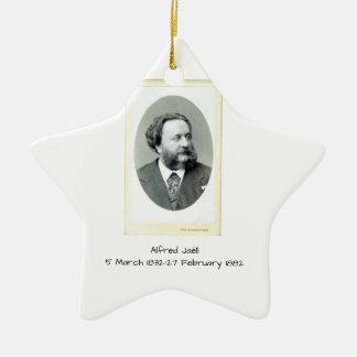 Ornement Étoile En Céramique Alfred Jaell