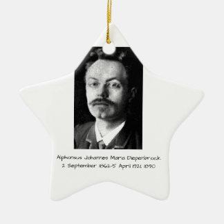 Ornement Étoile En Céramique Alphons Johannes Maria Diepenbrock 1890