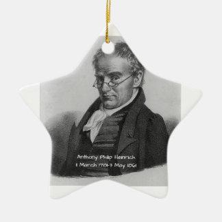 Ornement Étoile En Céramique Anthony Philip Heinrich