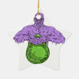 Ornement Étoile En Céramique Art de levage de crasse de Bell de bouilloire