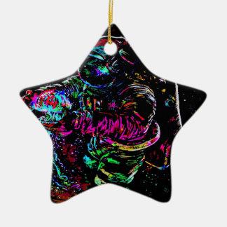 Ornement Étoile En Céramique Astronomacial