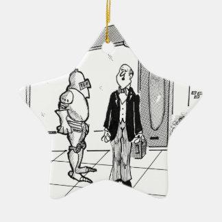 Ornement Étoile En Céramique Bande dessinée 1769 de mode