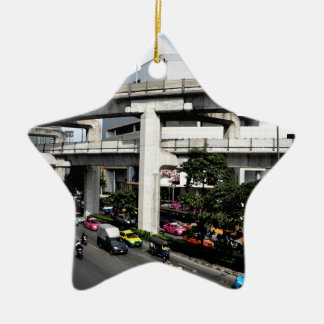 Ornement Étoile En Céramique Bangkok