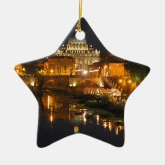 Ornement Étoile En Céramique Basilique Saint-Pierre - - Rome de Vatican -