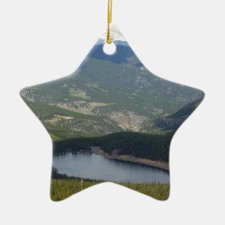 Ornement Étoile En Céramique Bâti Evans, le Colorado