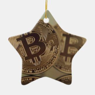 Ornement Étoile En Céramique Bitcoin 17