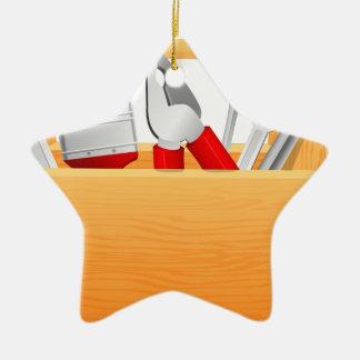 Ornement Étoile En Céramique Boîte à outils