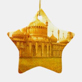 Ornement Étoile En Céramique Brighton Pavillion royal