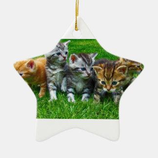 Ornement Étoile En Céramique Cadeaux mignons de Kitty