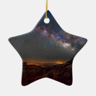 Ornement Étoile En Céramique Canyon de Bryce de royaume des fées