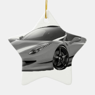 Ornement Étoile En Céramique cars voiture