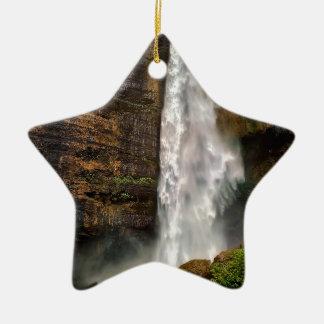 Ornement Étoile En Céramique Cascade