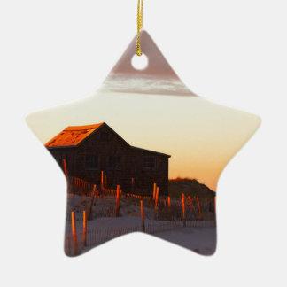 Ornement Étoile En Céramique Chambre au coucher du soleil - 1