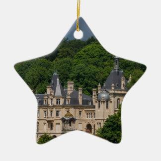 Ornement Étoile En Céramique Château de Pierrefonds